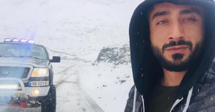 თუშეთში აბანოს უღელტეხილზე მოთოვა