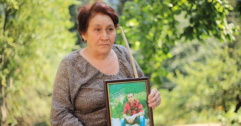 გარდაცვლილი გიორგი კვანჭიანის დედა