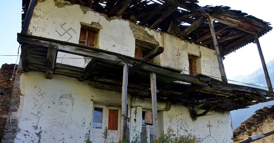 ხალდეს მერცხლები - რუსების მიერ განადგურებულ სოფელში დაბრუნებული ოჯახის თხოვნა მთავრობას